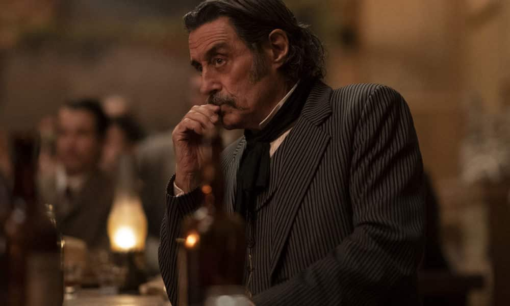 Ian McShane as Al Swearengen in HBO's Deadwood: The Movie - Photo Credit: Warrick Page / HBO