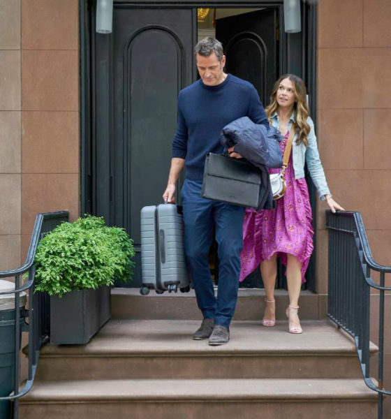 "Younger recap - Season 6 Episode 10 ""It's All About the Money, Honey"" - Pictured from left to right: Peter Hermann as Charles Brooks and Sutton Foster as Liza Miller - Photo Credit: TV Land"