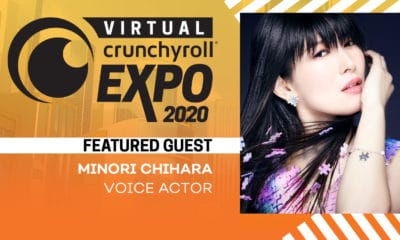 Minori Chihara - Promo Photo provided by Crunchyroll